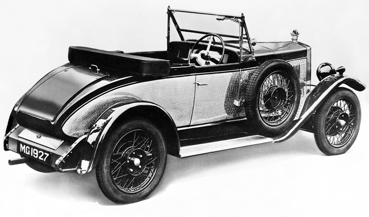 1926 MG 14/28 two-seater